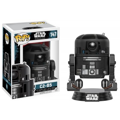 Фигурка FUNKO POP! BOBBLE: STAR WARS: ROGUE ONE: C2-B5 147