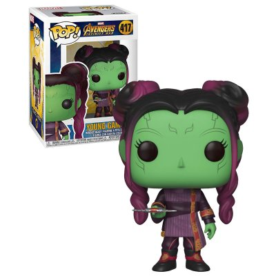 Фигурка Funko POP Marvel: Avengers Infinity War – Young Gamora 417