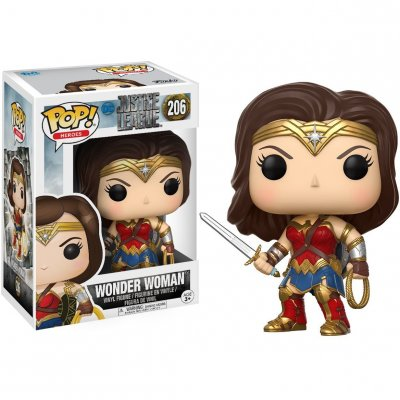Фигурка Funko POP! Movies: DC Justice League - Wonder Woman 206