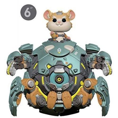 "Фигурка Funko POP! Vinyl: Games: Overwatch S5: 6"" Wrecking Ball 37432"