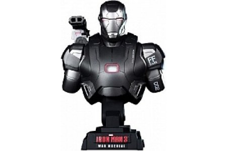 Фигурка Бюст Hot Toys Iron Man 3 War Machine 1/4 Scale Limited Edition Collectible Bust фото 1