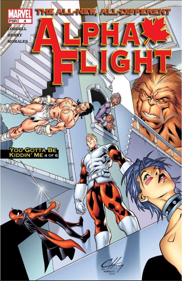 Комикс Alpha Flight #4