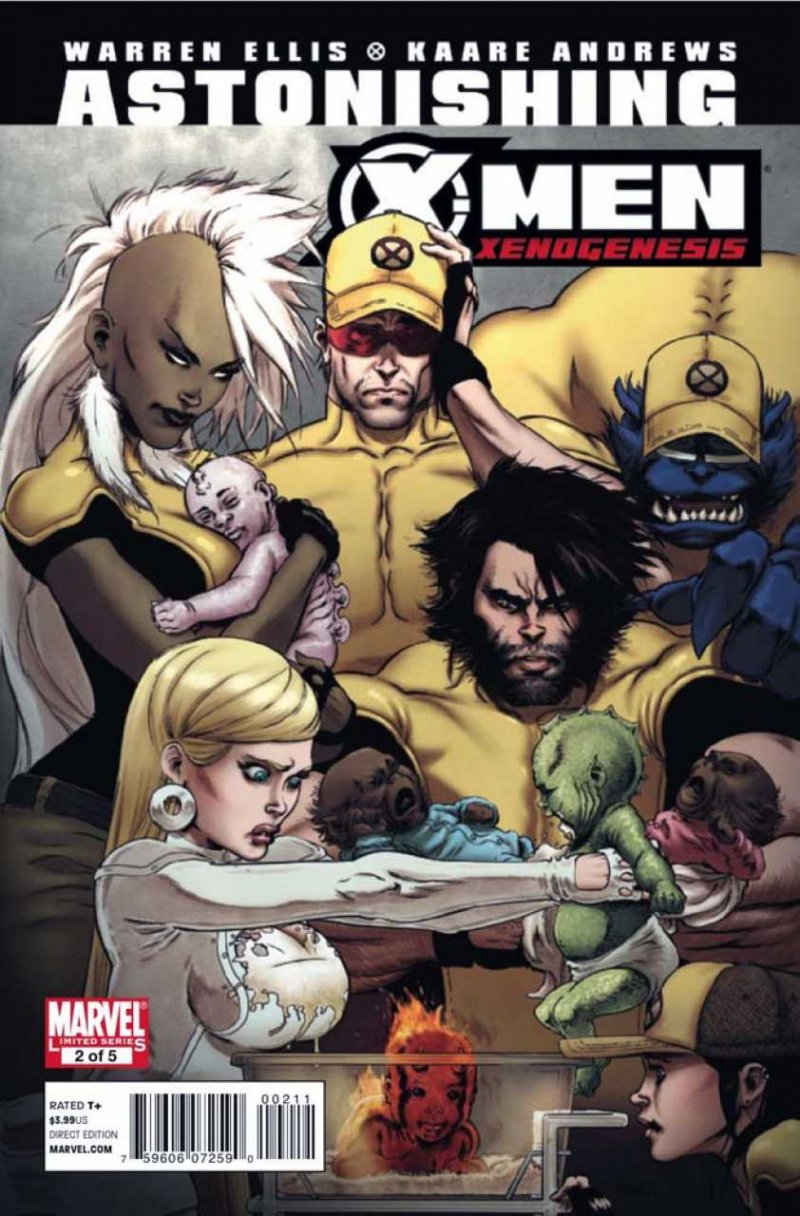 Комикс Astonishing X-Men: Xenogenesis #2