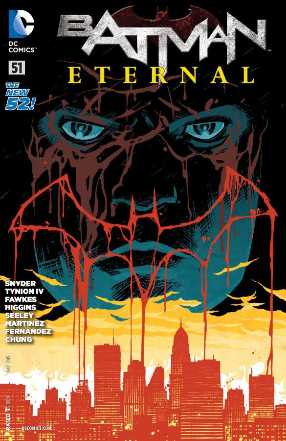 Комикс Batman Eternal #51