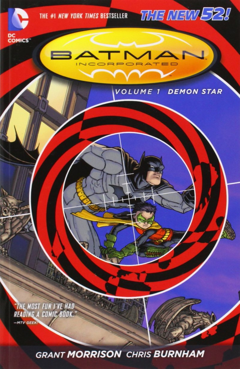 Комикс Batman Incorporated Vol. 1: Demon Star TPB