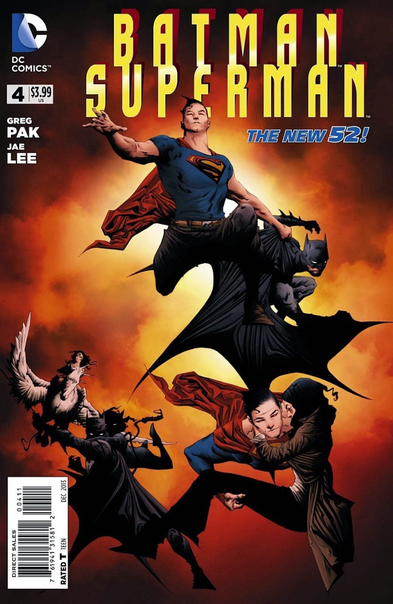 Комикс Batman Superman #4
