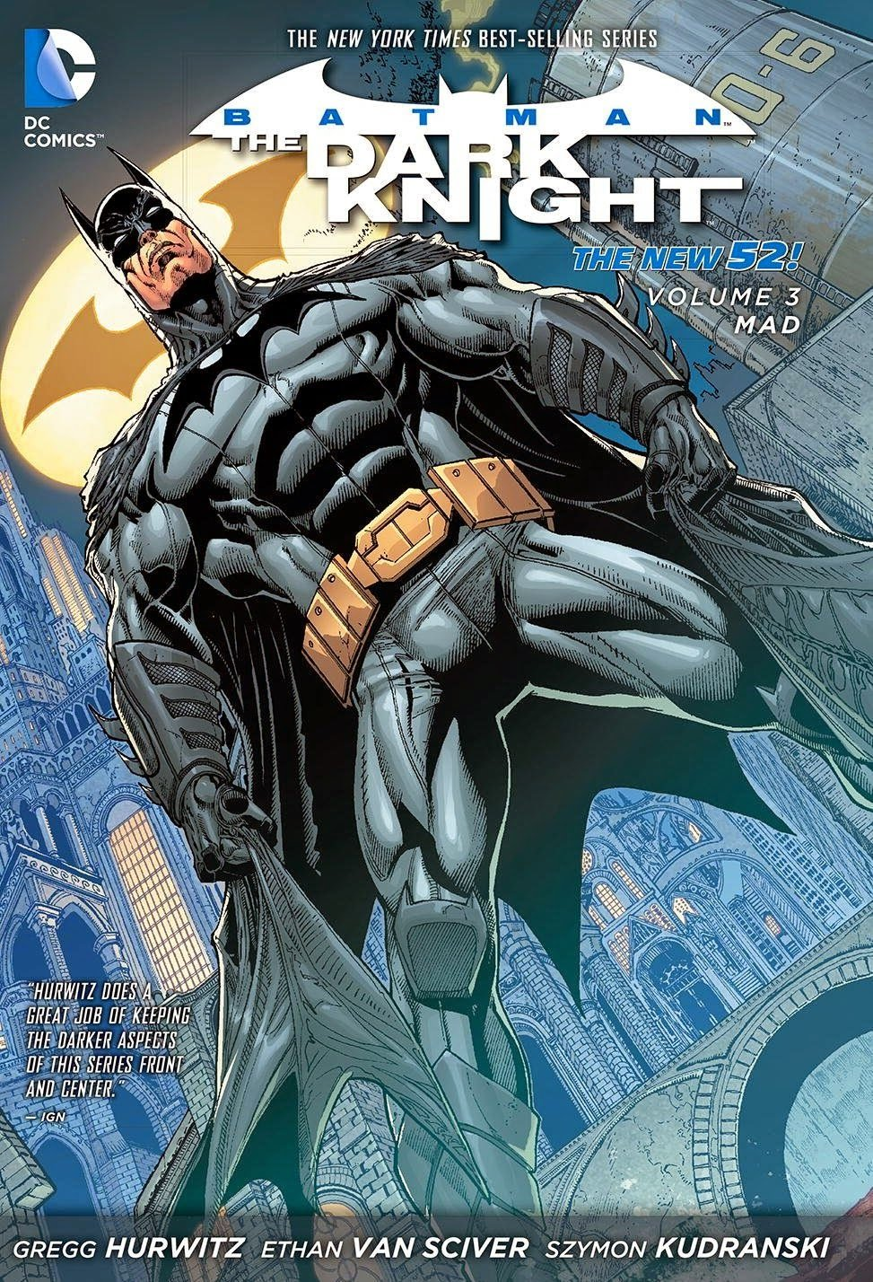 Комикс Batman: The Dark Knight. Vol.3: Mad