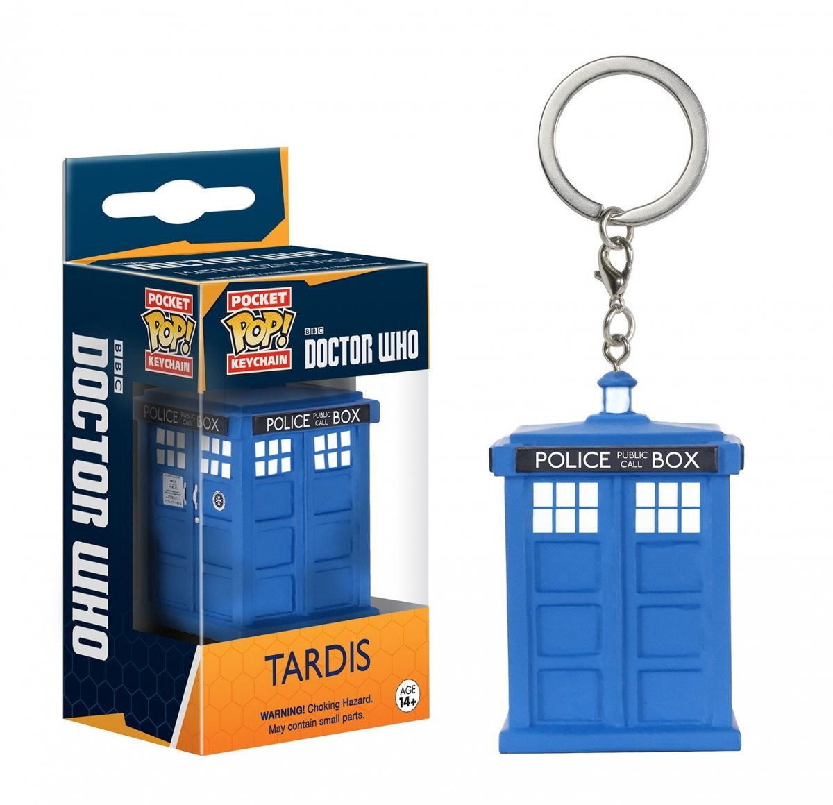 Фигурка Брелок Funko Pocket POP! Keychain: Doctor Who: Tardis 8689