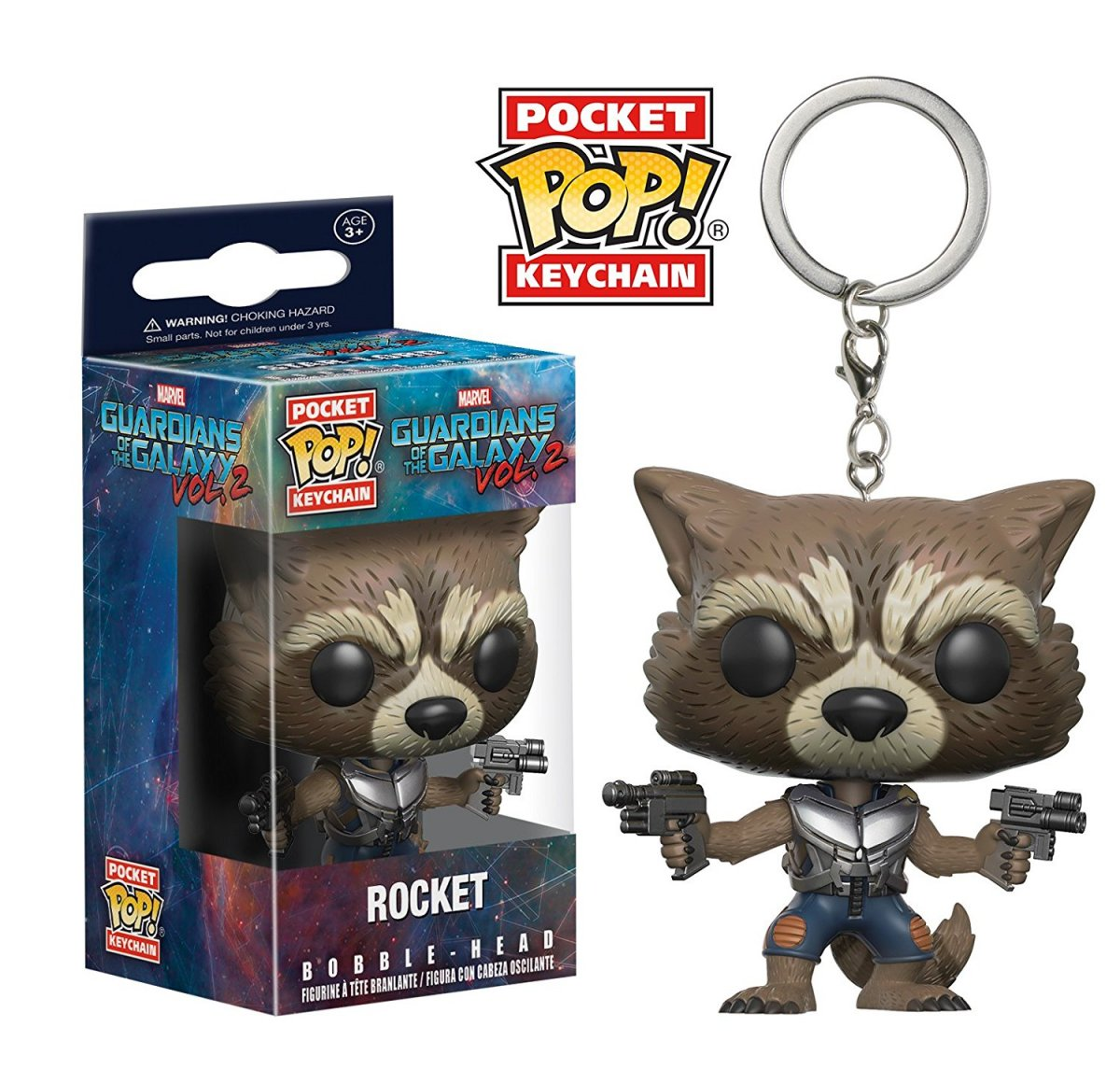Фигурка Брелок Funko Pocket POP! Keychain: Marvel: Guardians O/T Galaxy 2: Rocket 13217