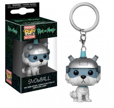 Фигурка Брелок Funko POP!: Keychain: Rick and Morty: Snowball