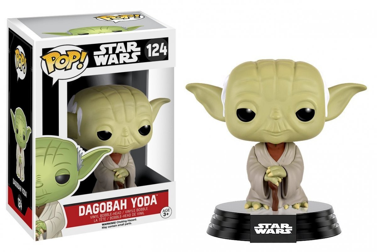 Фигурка Funko POP! Bobble: Star Wars: Dagobah Yoda 10105