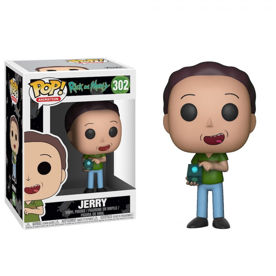 Фигурка Funko POP! Vinyl: Rick and Morty - Jerry
