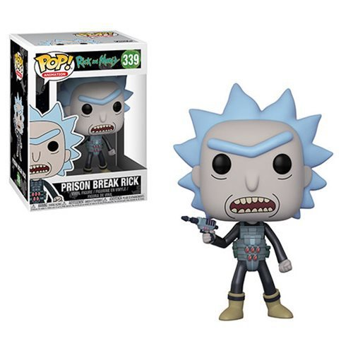 Фигурка Funko POP! Vinyl: Rick and Morty - Rick Prison Escape