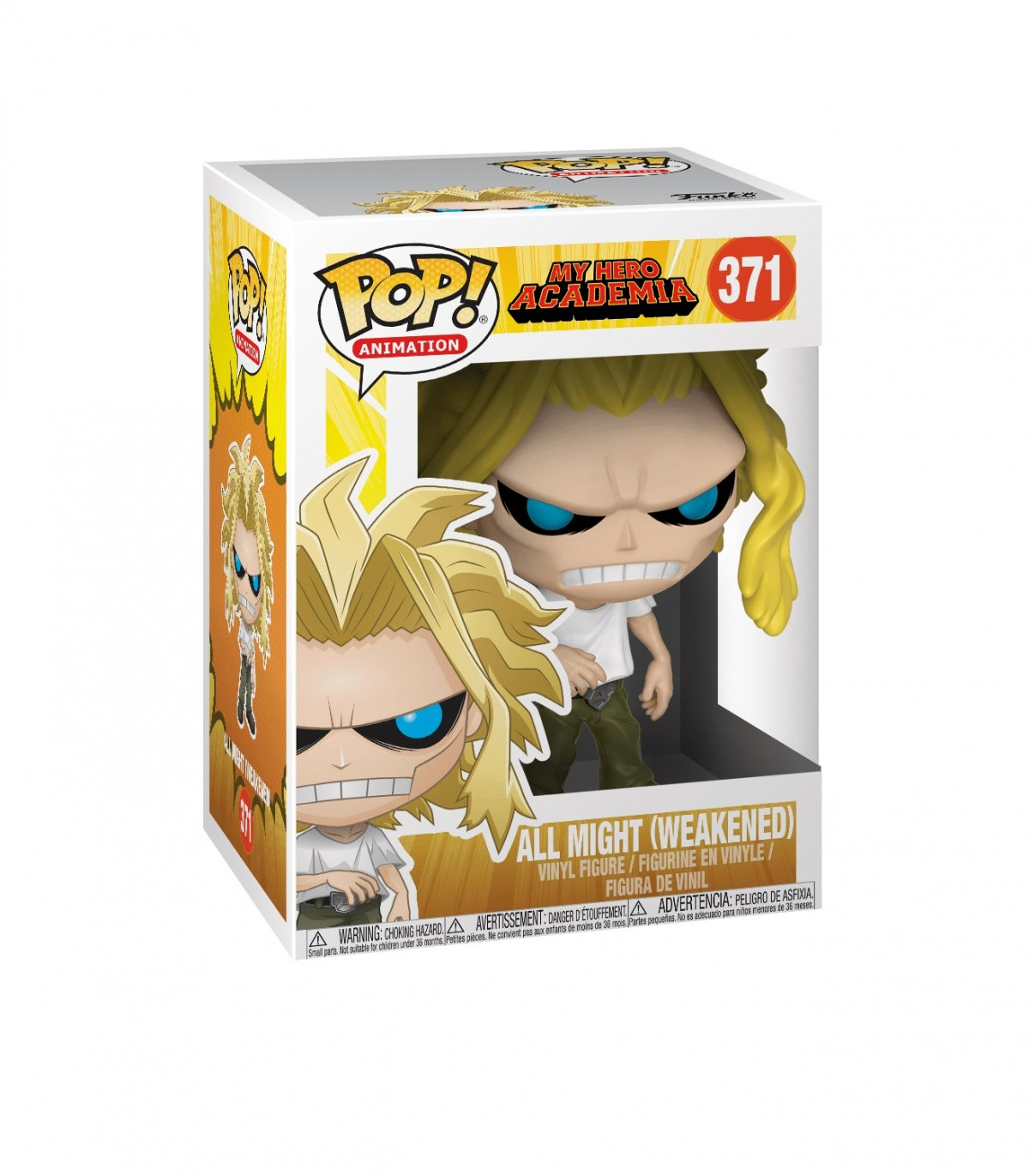 Фигурка Funko POP! Vinyl: My Hero Academia: All Might Weakened Hero (GW) (Exc) 44783