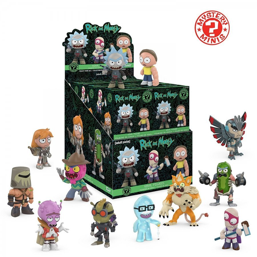 Фигурка Funko. Rick and Morty (Mystery Minis)