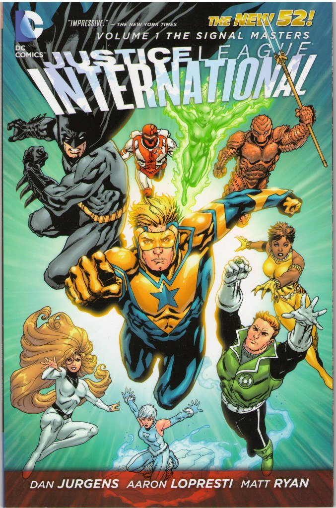 Комикс Justice League International Vol.1: The Signal Masters