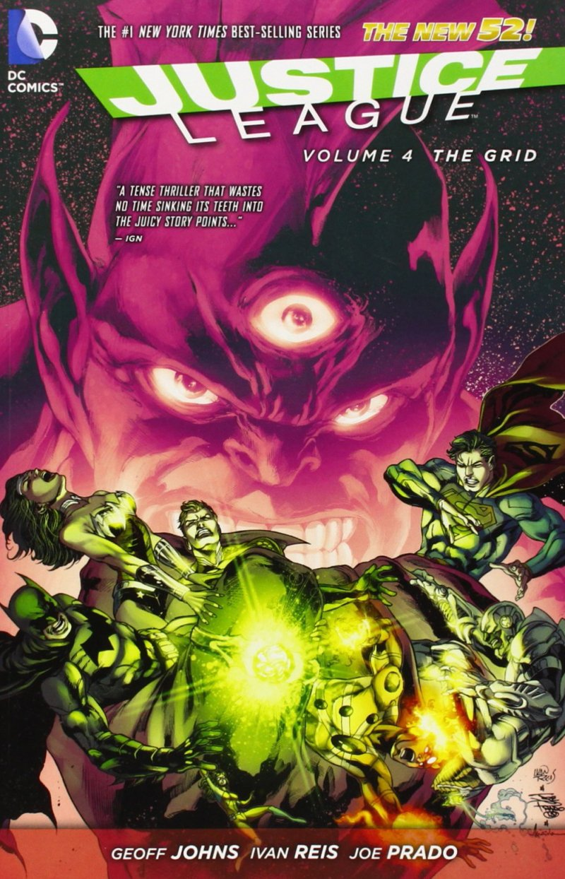 Комикс Justice League Vol. 4: The Grid (The New 52)