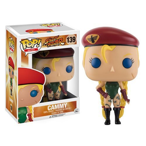 Фигурка Кэмми (Cammy) Funko Pop! Vinyl Figure