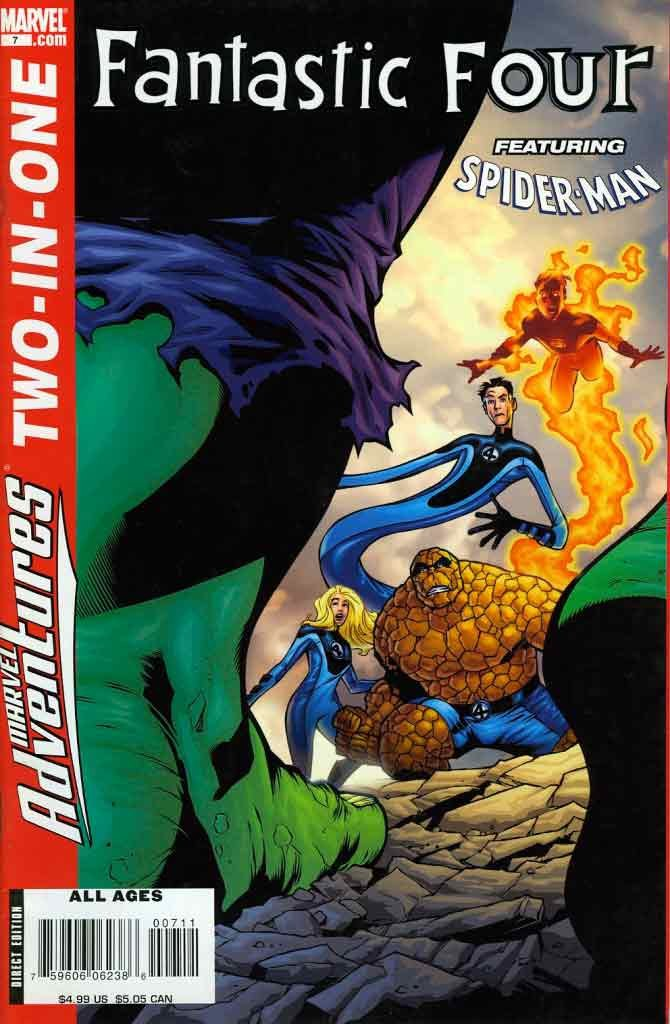 Комикс Marvel Adventures Fantastic Four (#7)