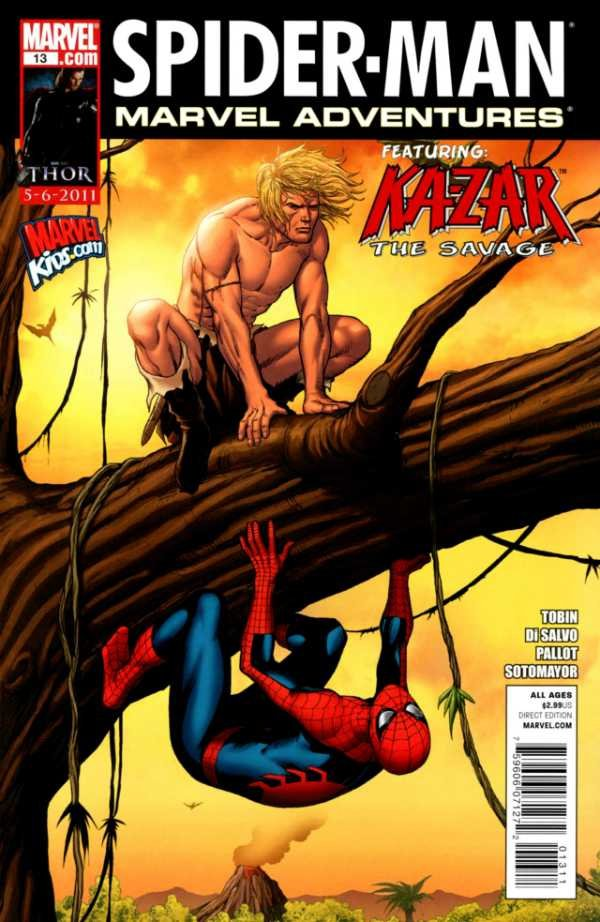Комикс Marvel Adventures Spider-Man #13