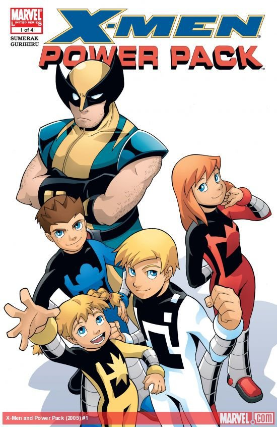 Комикс Marvel Adventures X-Man Power Pack #1