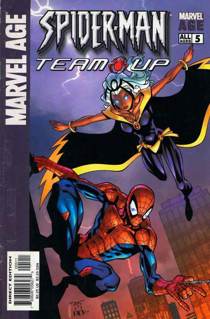 Комикс Marvel Age Spider-Mar Team Up (#5)