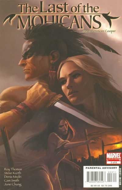Комикс Marvel Illustrated: Last Of The Mohicans #3