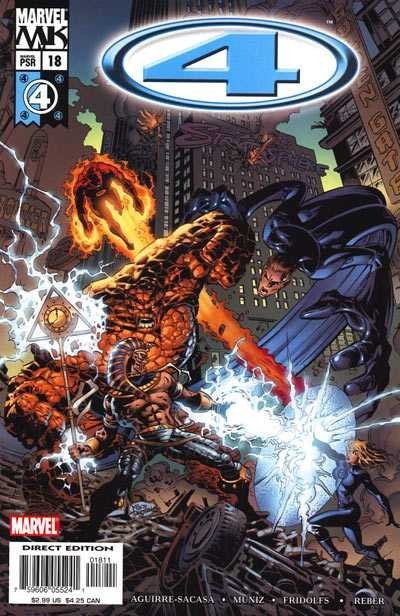 Комикс Marvel Knights: 4 #18