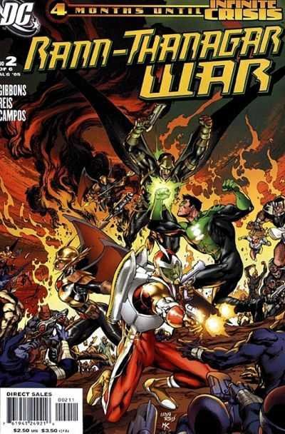Комикс Rann/Thanagar War #2