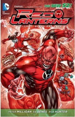 Комикс Red Lanterns Vol. 1: Blood and Rage