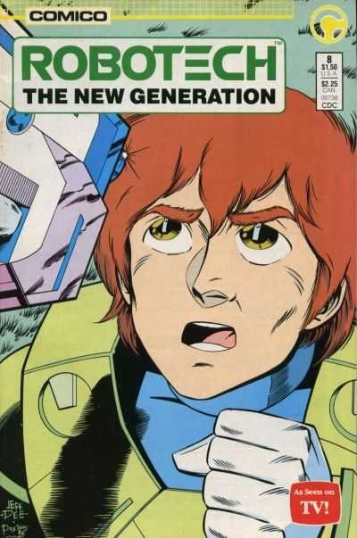 Комикс Robotech: The New Generation #8