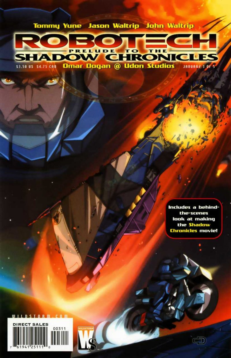 Комикс Robotech: Prelude to the Shadow Chronicles #3