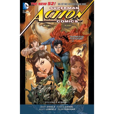 Комикс Action Comics. Vol.4: Hybrid