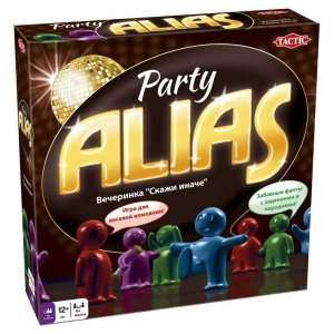 Настольная игра ALIAS: Party (Алиас: Скажи иначе - Вечеринка 2)