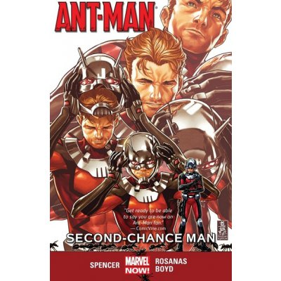 Комикс Ant-Man Vol. 1: Second-Chance Man
