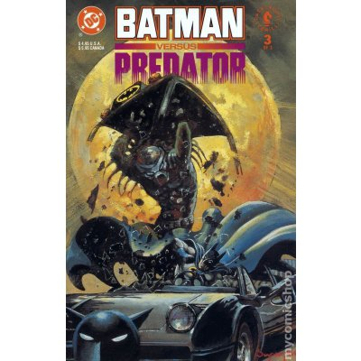 Комикс Batman versus Predator #3 (of 3)