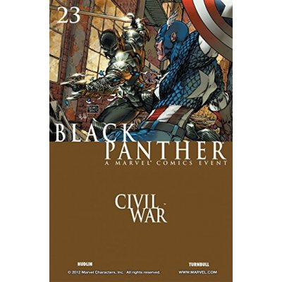 Комикс Black Panther. Civil War #23