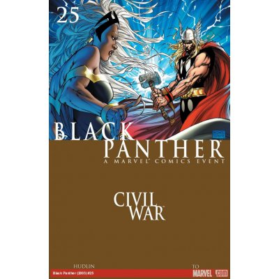 Комикс Black Panther. Civil War #25