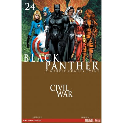 Комикс Black Panther. Civil War #24