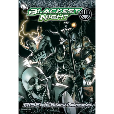 Комикс Blackest Night Rise Of The Black Lanterns