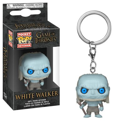 Фигурка Брелок Funko Pocket POP! Keychain: Game of Thrones S10: White Walker 37663-PDQ