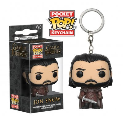 Фигурка Брелок Funko Pocket POP! Keychain: Game of Thrones: S7 Jon Snow 14690