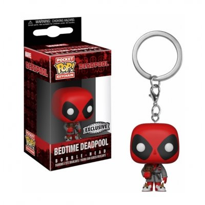 Фигурка Брелок Funko Pocket POP! Keychain: Marvel: Deadpool Playtime: Deadpool Bath Robe 31733 (Эксклюзив)