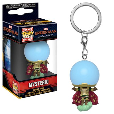 Фигурка Брелок Funko Pocket POP! Keychain: Marvel: Spider-Man: Far From Home: Mysterio 39363-PDQ