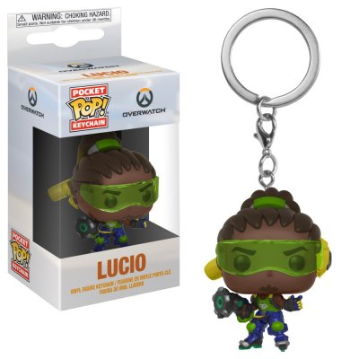 Фигурка Брелок Funko Pocket POP! Keychain: Overwatch: Lucio 32796-PDQ