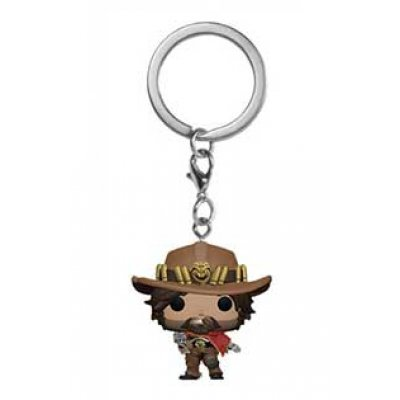 Фигурка Брелок Funko Pocket POP! Keychain: Overwatch: McCree 37439-PDQ