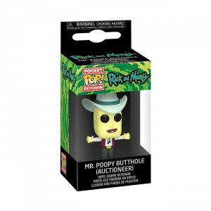 Брелок Брелок Funko Pocket POP! Keychain: Rick & Morty: Mr. Poopy Butthole 45421-PDQ