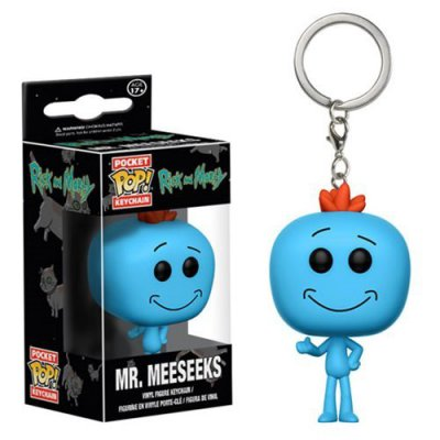 Фигурка Брелок Funko POP!: Keychain: Rick and Morty: Mr. Meeseeks