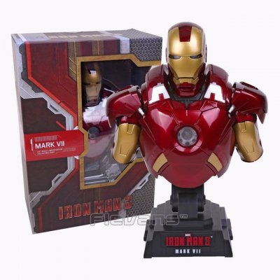 Фигурка Бюст Hot Toys Iron Man 3 MARK VII 1/4 Scale Limited Edition Collectible Bust