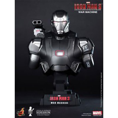 Фигурка Бюст Hot Toys Iron Man 3 War Machine 1/4 Scale Limited Edition Collectible Bust